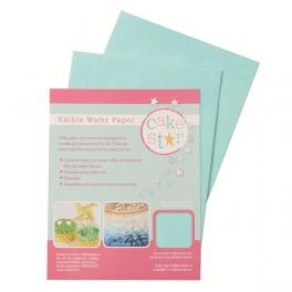 Modrý jedlý papír 12ks