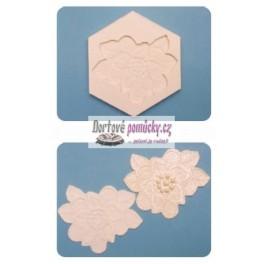 Silikonová forma FPC - Floral Lace Mould