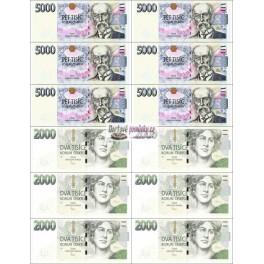 Bankovky velke jedlý papír