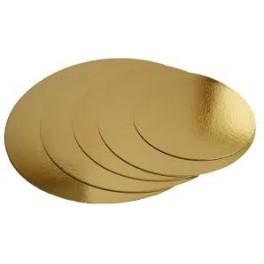 Podložka dortová zlatá 22cm FR