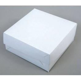 Dortová krabice bílá (30 x 30 x 10,5 cm) 5ks